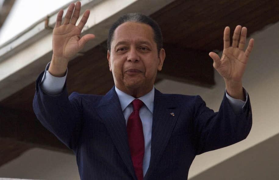 L'ex-dictateur haïtienJean-Claude Duvalier en 2011