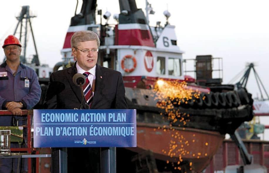 <div> Stephen Harper a annonc&eacute; en janvier 2012 l&rsquo;octroi de 33 milliards accord&eacute;s aux compagnies Seaspan Marine de Vancouver (qui doit construire sept bateaux civils) et &agrave; Irving, &agrave; Halifax (pour la construction de 15 navires de combat et six de surveillance).</div>