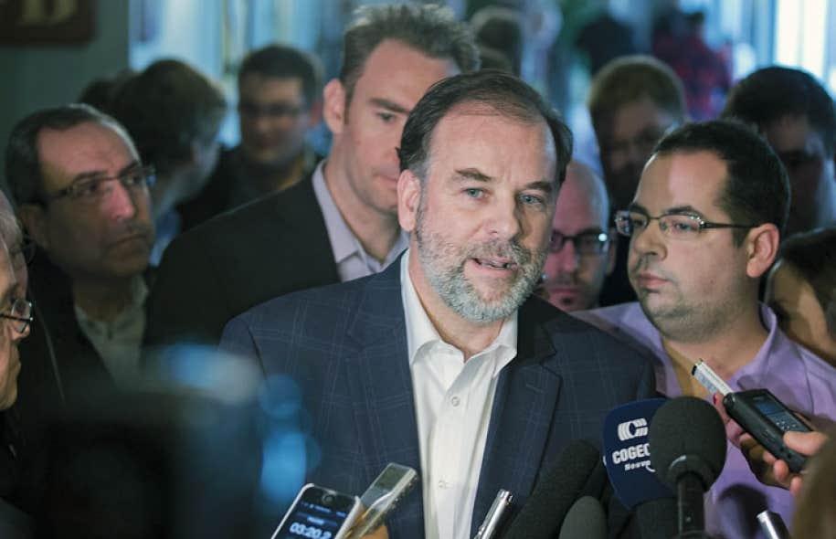 Le ministre Pierre Duchesne