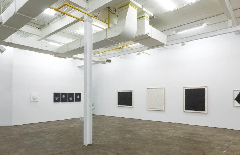 Vue d'exposition, Luce Meunier : structure apparente