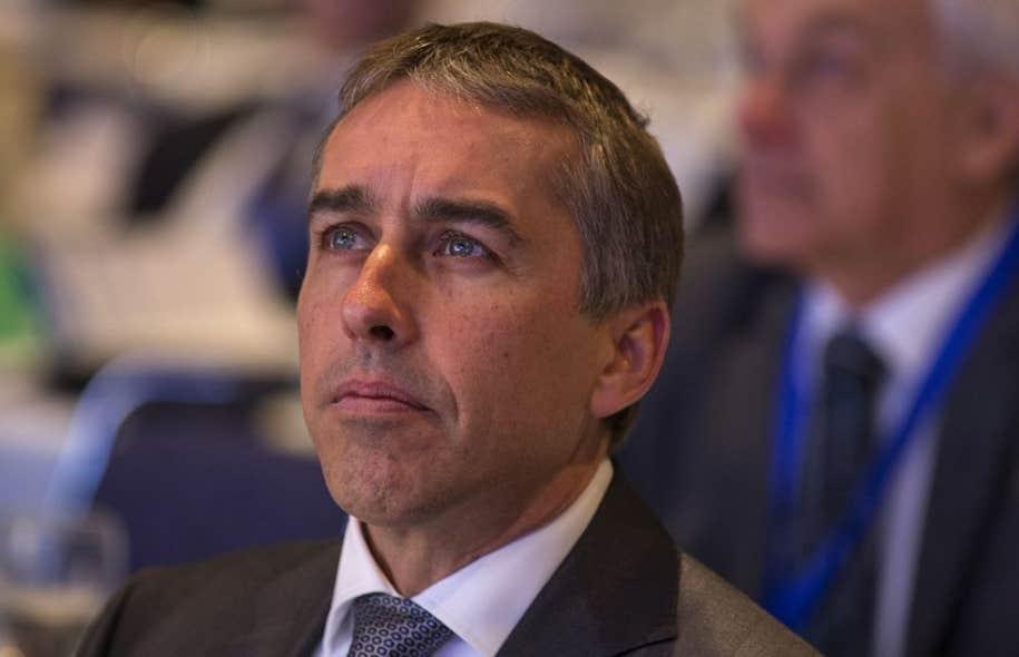 Le ministre des Finances, Nicolas Marceau