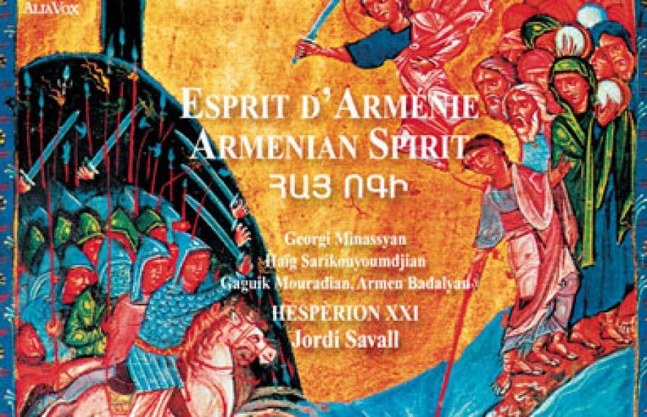 jordi savall esprit d'armenie télécharger