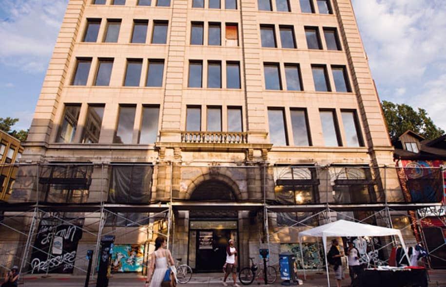 Aucuns travaux n'ont été entamés sur le bel immeuble de pierre de six étages de la rue Sainte-Catherine acheté en 2007 par les scientologues.