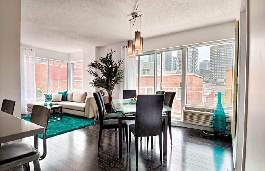 finest un exemple de salon et salle manger duun logement comprenant with exemple de salon - Exemple De Salon Salle A Manger