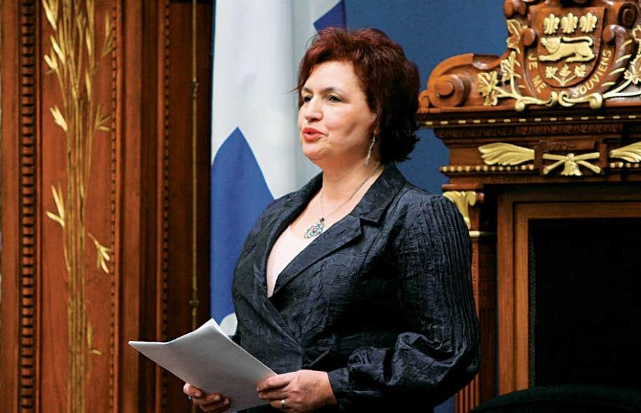 Mme Houda-Pepin disait, en 2012, ne pas épouser la position du Parti libéral sur la neutralité de l'État.