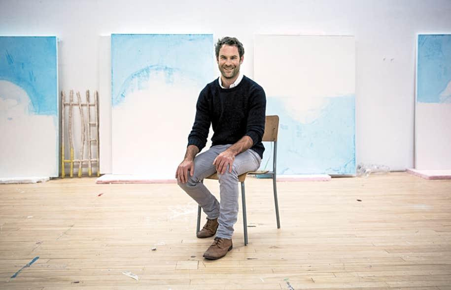 Pascal Grandmaison a passé l'été à préparer sa nouvelle exposition, qui ouvrira sous peu à la galerie René Blouin.