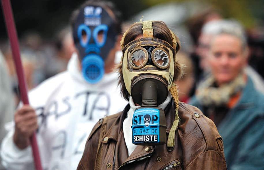 L'opposition aux gaz de schiste est particulièrement vive en France. Plusieurs manifestations ont eu lieu au cours des dernières années.