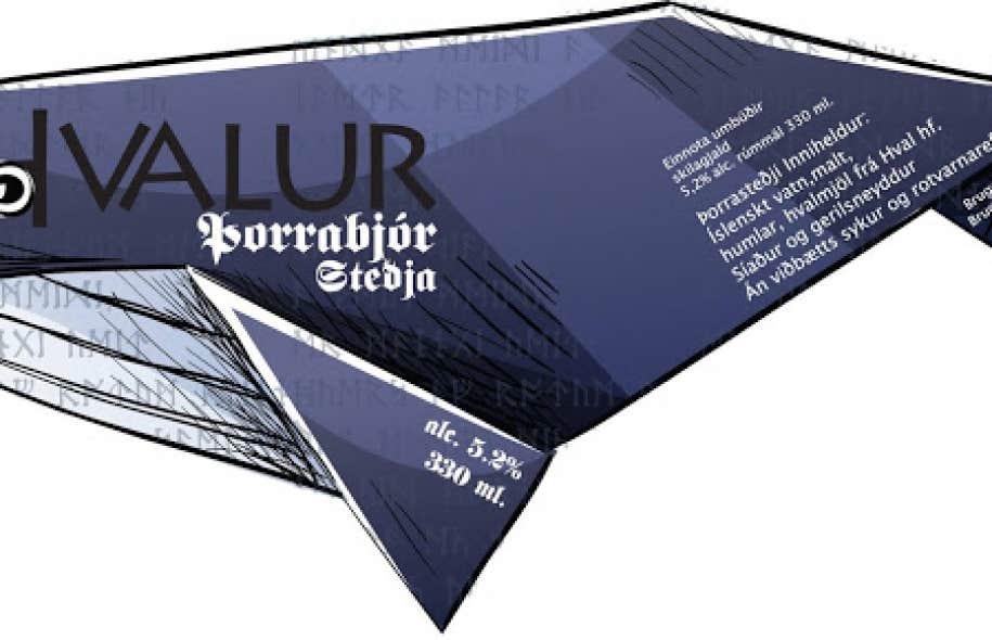 Des groupes environnementaux ont condamné la commercialisation de cette nouvelle bière, produite grâce à un partenariat avec la seule entreprise du pays chassant la baleine, Hvalur.