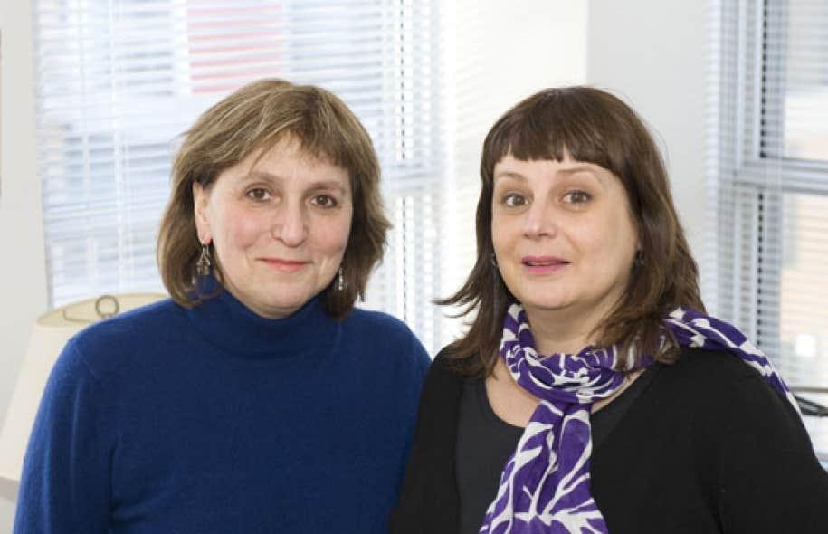Lyne Kurtzman et Caroline Désy