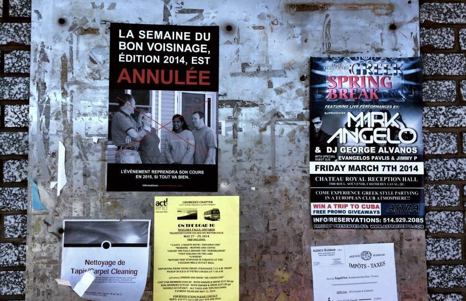 Vue sur le projet Terre des festivals de Marc-Antoine K. Phaneuf.