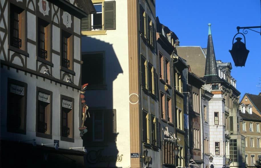Mulhouse, ville française du Rhin Supérieur, située dans le Sud de l'Alsace.