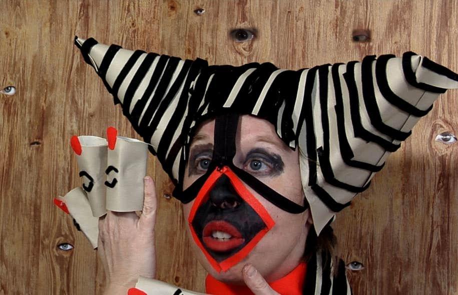 Images tirées de la vidéo La foire de Julie Lequin
