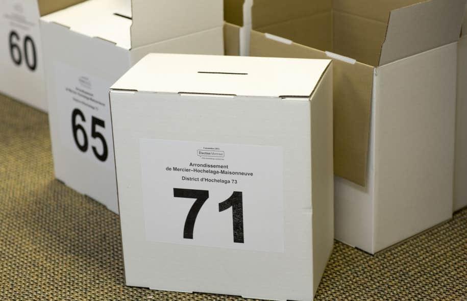 Les électeurs doivent s'inscrire sur la liste électorale pour avoir le droit de voter.