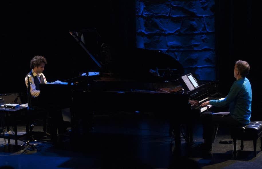 Tigran Hamasyan et Brad Mehldau ont partagé la scène pour un spectacle acoustique.