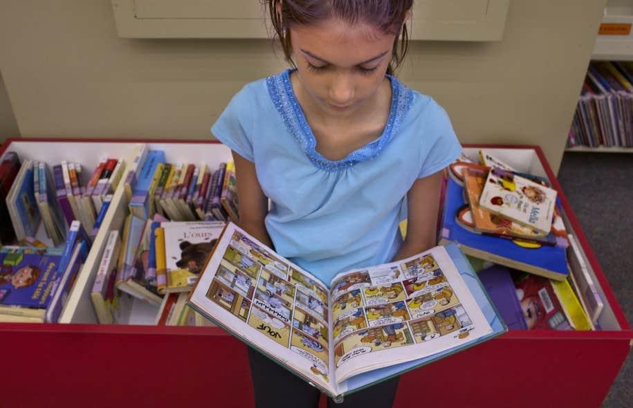 <em>&laquo;Il n&rsquo;y a pas un enfant qui va mourir de &ccedil;a et qui va s&rsquo;emp&ecirc;cher de lire, parce qu&rsquo;il existe d&eacute;j&agrave; des livres</em> [dans les biblioth&egrave;ques]&raquo;, affirme le ministre Yves Bolduc.