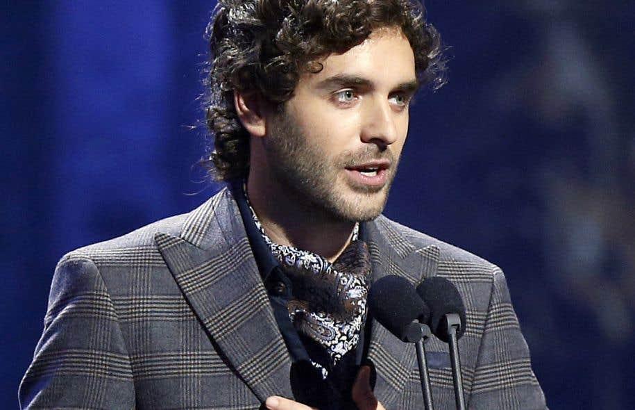 Alex Nevsky a remporté 3 Félix au cours de la soirée: album pop, interprète masculin et chanson populaire de l'année.