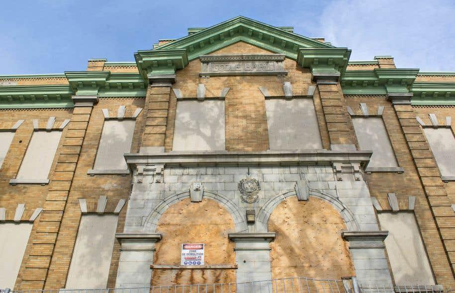 L'école Baril dans le quartier Hochelaga-Maisonneuve, a été fermée en raison de moisissures.