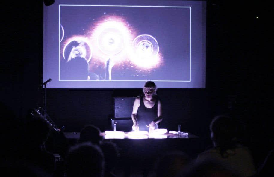 Myriam Bleau se dit «fascinée par la physique des mouvements, par le détournement?d'objets du quotidien».