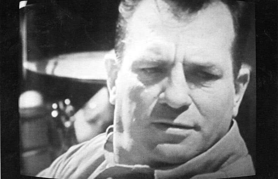 Jack Kerouac lors de son passage à l'émission Le sel de la semaine en 1967, à Radio-Canada