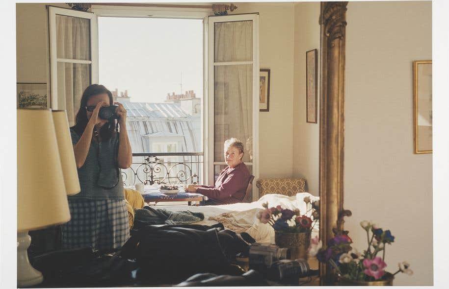 Raymonde April, «Miroir», de la série «Dix images seules», 2004