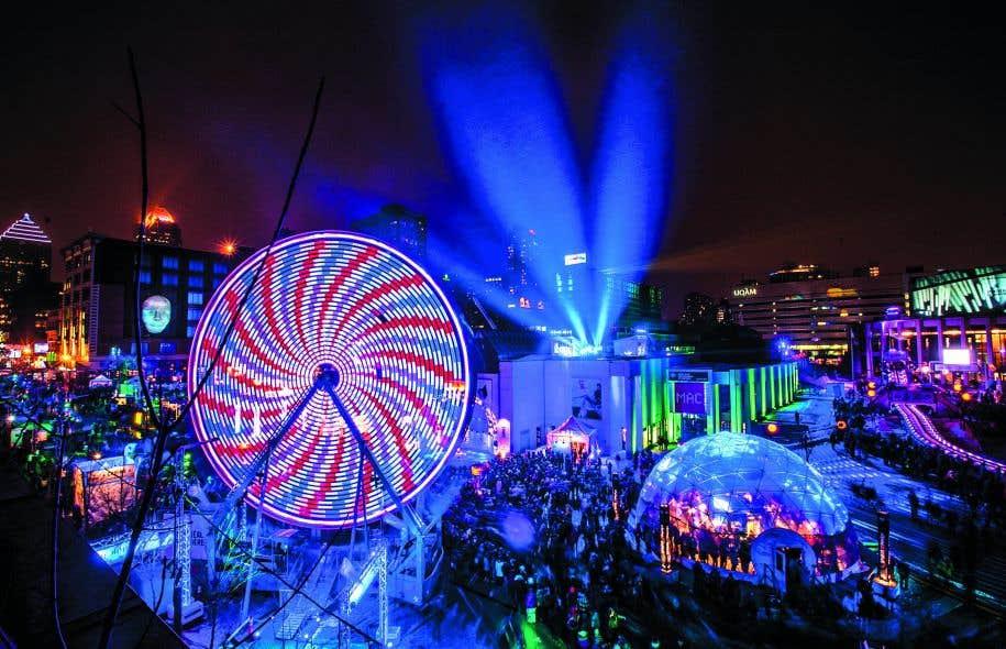 Avec ses quelque 200 activités en tous genres réparties dans trois quartiers et deux pôles, la Nuit blanche de Montréal embrasse large.