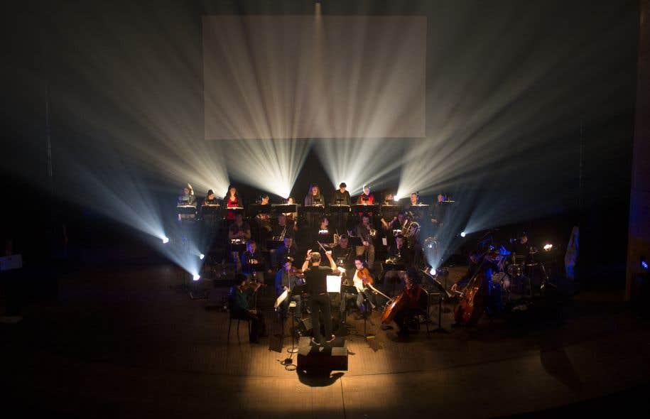 Le fait d'avoir retrouvé et numérisé les pistes d'il y a 30ans a permis à Walter Boudreau de réduire la partition d'«Atlantide» à 17 instrumentistes.