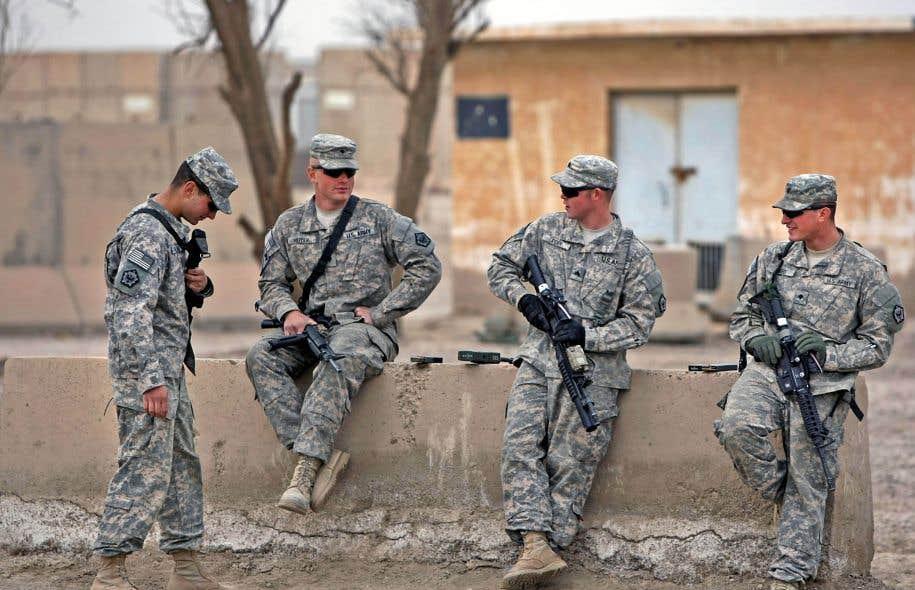 Des militaires américains basés en Irak