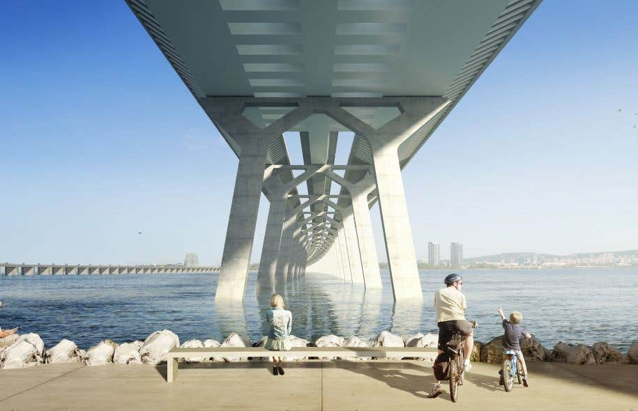 Les travaux du nouveau pont Champlain devraient s'amorcer à l'été 2015.