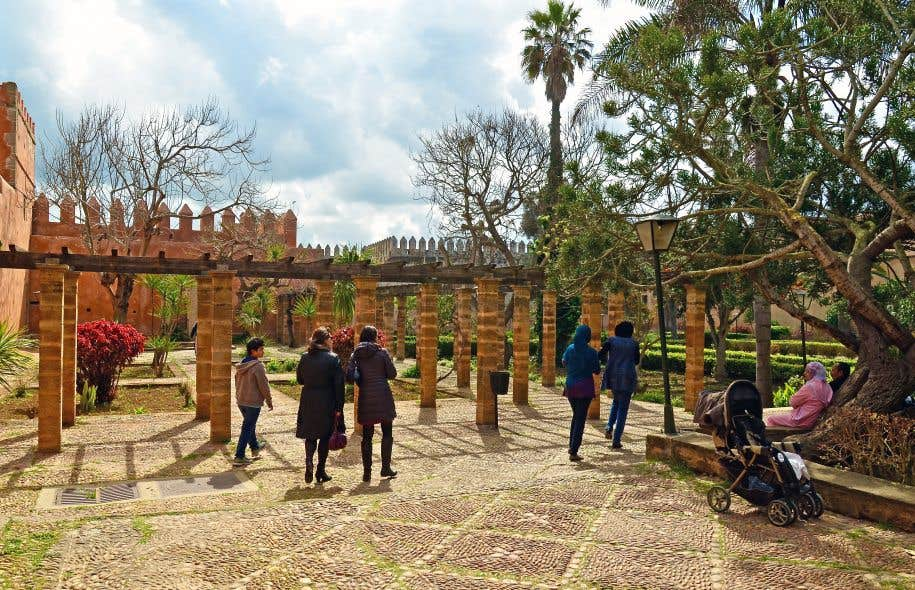 Rabat l unique la discr te le devoir for Jardin oudaya rabat