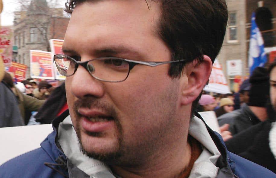 Pier-André Bouchard St-Amant, président de la FEUQ de 2004 à 2005