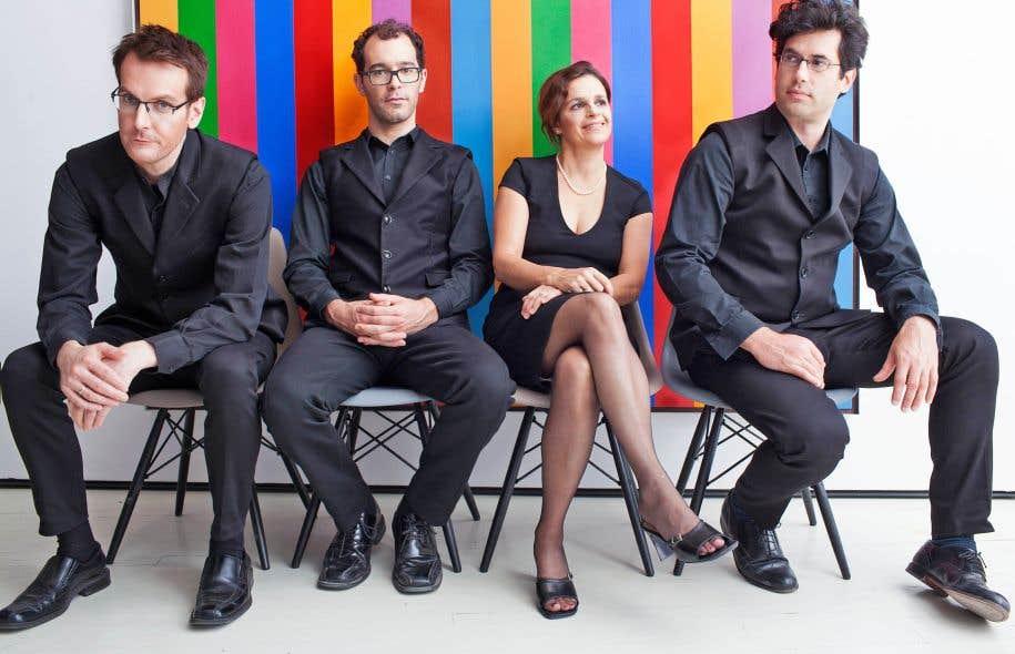 Le défi est immense: présenter les 15 quatuors à cordes de Chostakovitch, dans l'ordre.