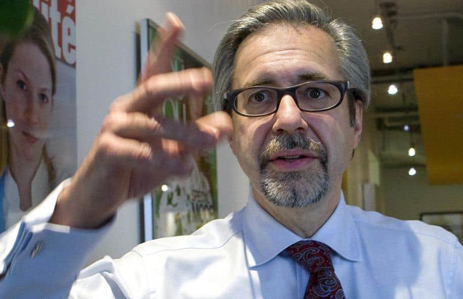 Le président-directeur général de la Place des Arts,Marc Blondeau