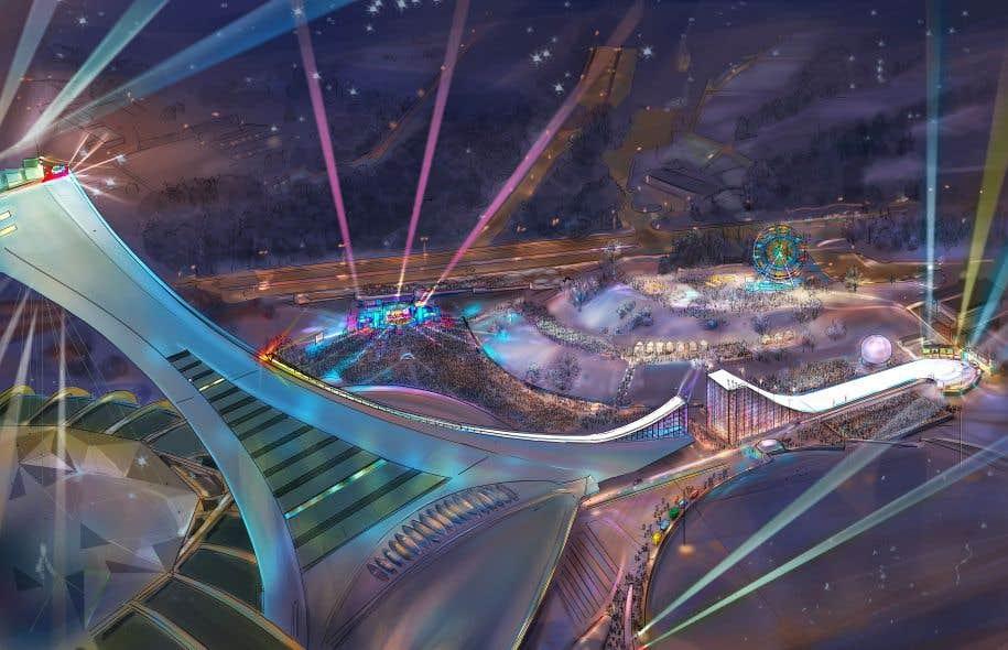 La ville octroie 250 000 pour du ski sur le m t du stade - Piscine du stade olympique ...