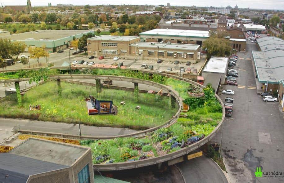 La cath drale verte un projet innovant et impressionnant le devoir for Grand jardin en friche