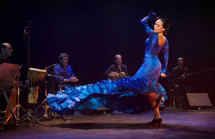 La troupe Flamenco Vivo