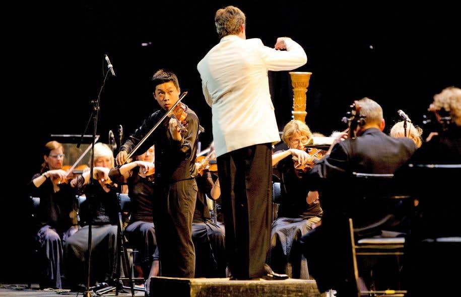 Le violoniste Kerson Leong est un magnifique soliste, adepte de longues lignes chantantes.