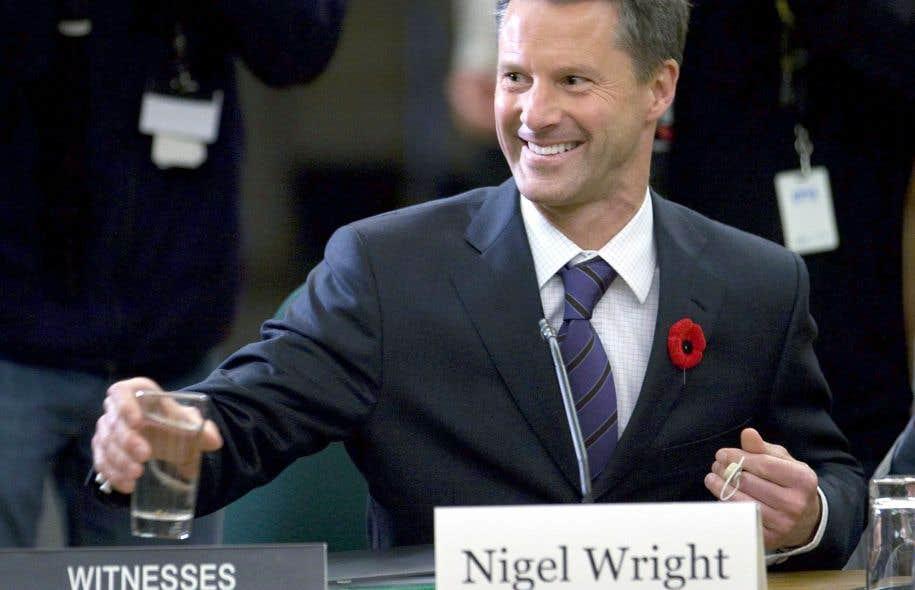 L'ex-chef de cabinet de Stephen Harper, Nigel Wright, n'a jamais raconté publiquement les événements qui se sont déroulés en 2013.