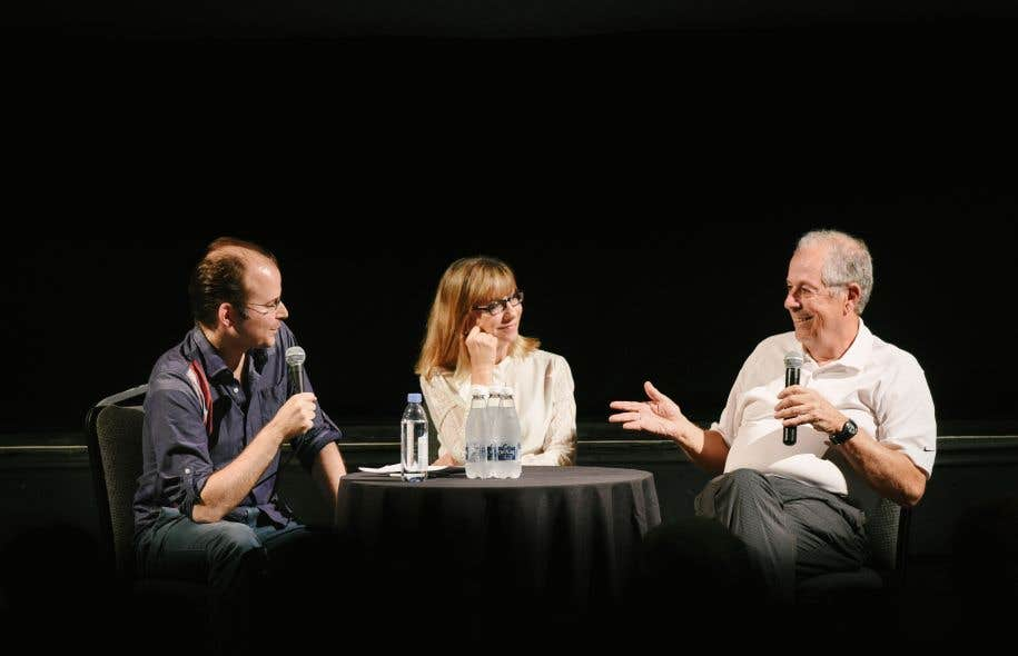 Carl Bergeron, Denise Robert et Denys Arcand
