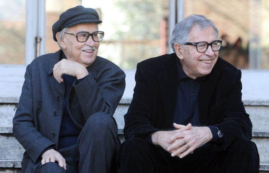 Vittorio et Pablo Taviani