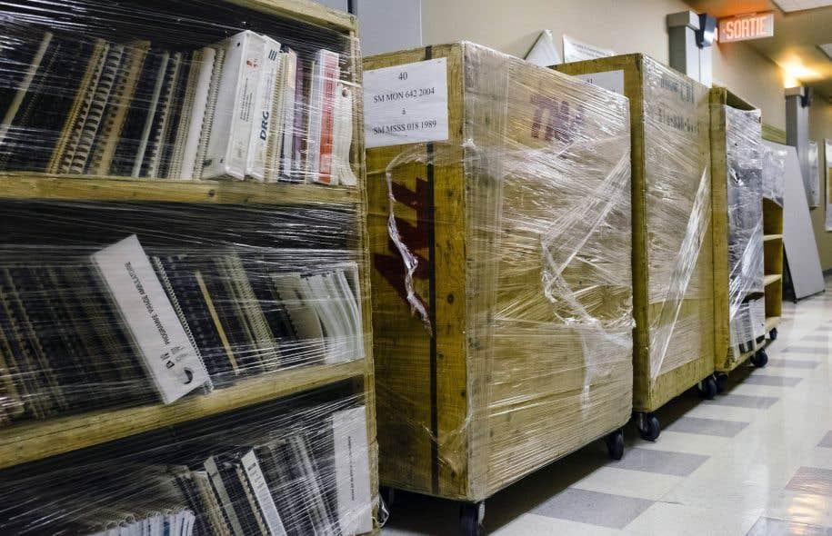 La nouvelle bibliothèque du ministère de la Santé sera intégrée au Centre de documentation de l'IRDPQ.