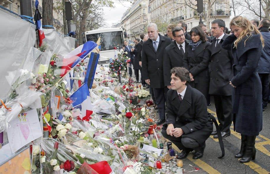 Hommage québécois aux victimes du Bataclan
