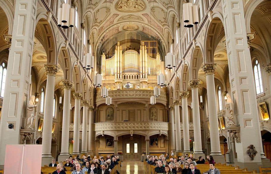 L'église du Gesù, l'une des plus belles et des plus anciennes de Montréal