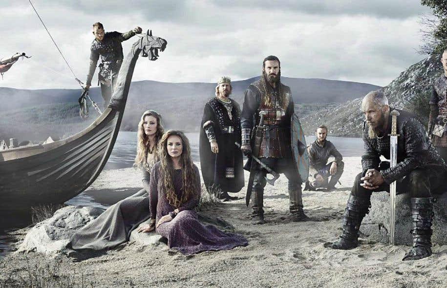 La série «Vikings» raconte les raids du héros Ragnar Lothbrok dans la chrétienté.