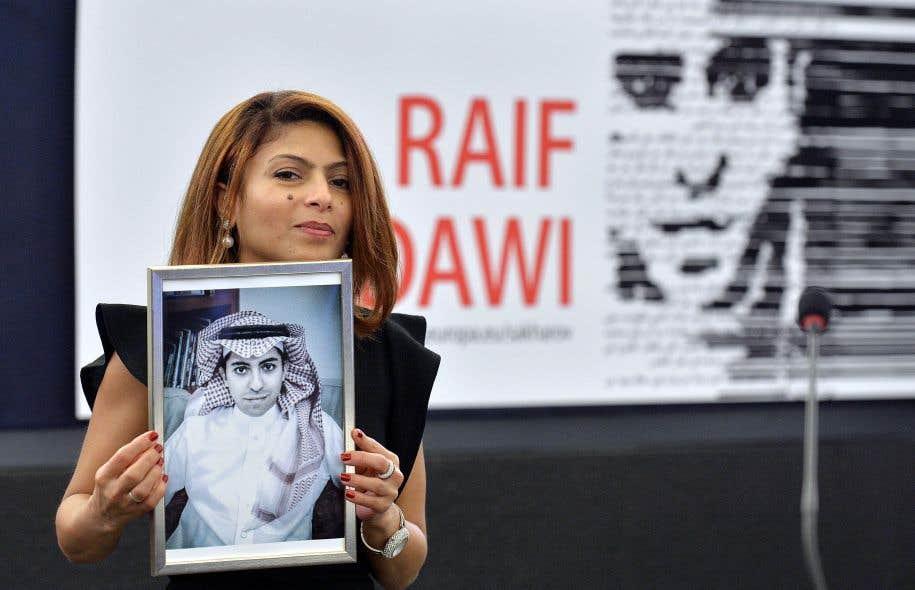 Ensaf Haidar, l'épouse de Raïf Badawi, se bat comme une diablesse pour sortir le blogueur du cauchemar saoudien.