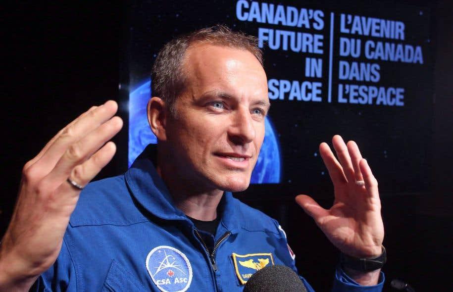 David Saint-Jacques s'envolera vers la Station spatiale internationale