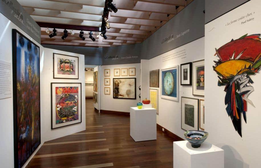 La Collection Loto-Québec existe depuis 35ans et compte environ 5000 œuvres de plus de 1200 artistes québécois.