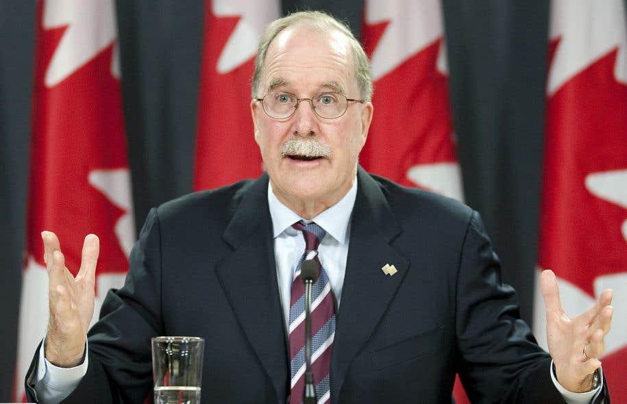 Le commissaire aux langues officielles, lors du dépôt de son rapport annuel 2010-2011, en octobre2011