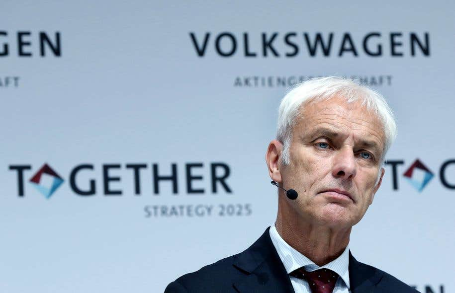 le patron de volkswagen s interroge sur l avenir du diesel. Black Bedroom Furniture Sets. Home Design Ideas