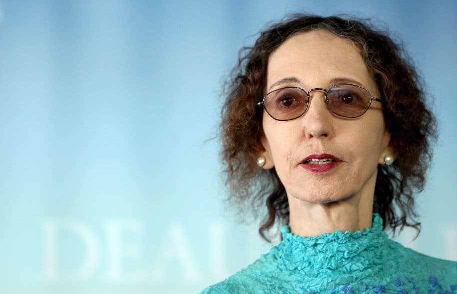 L'auteure Joyce Carol Oates