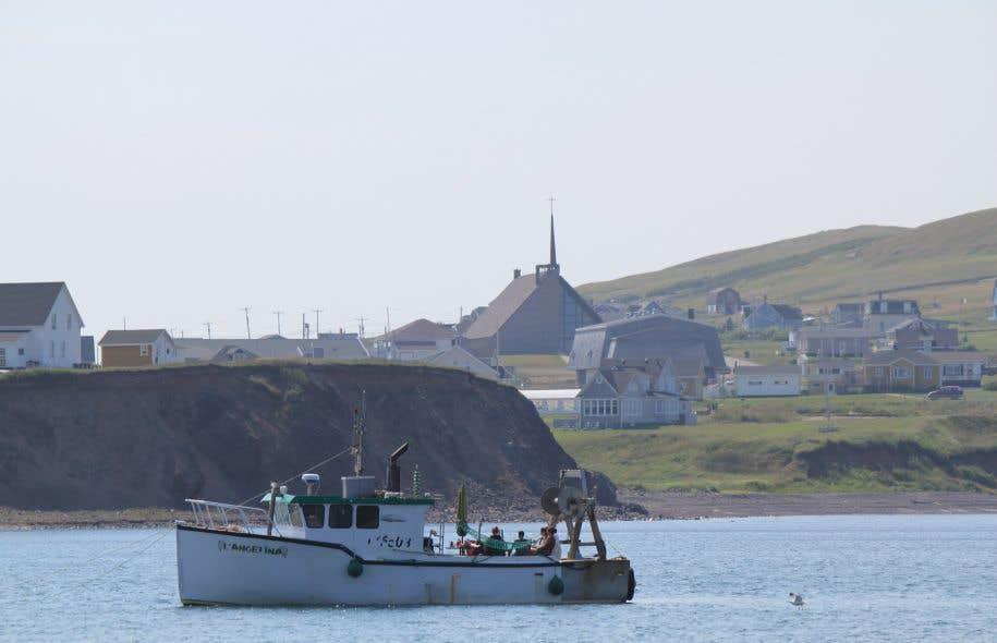 Le secteur Old Harry est situé à 80 kilomètres des Îles de la Madeleine.